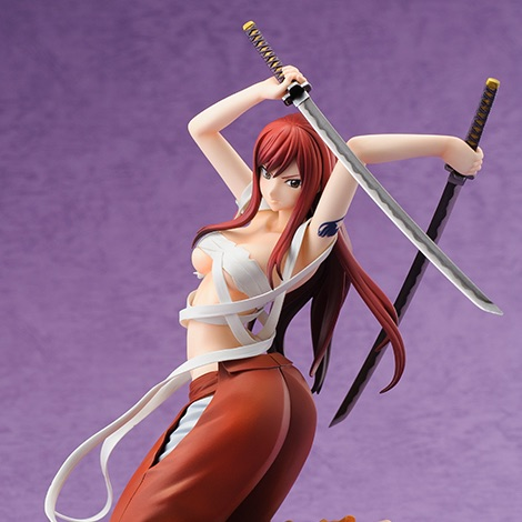 Erza Scarlet Hakama Ver. - Click Image to Close
