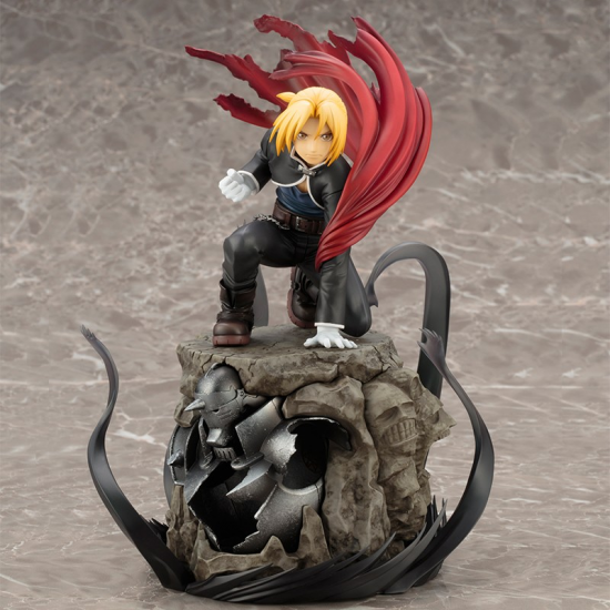 ARTFX J Edward Elric Limited Ver. S/B - Click Image to Close