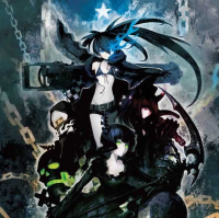 Black Rock Shooter Blu-ray & DVD Set A/A